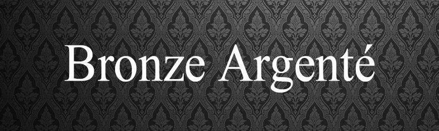 Pommeaux Bronze Argenté