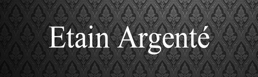 Pommeaux Etain Argenté